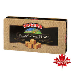 Rogers Plantation Raw Sugar Cubes - Golden Brown - 500g