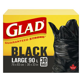 Glad Easy-Tie Large Container Bags - 77L / 30's