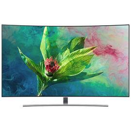 Samsung 55-in QLED 4K Smart Curved TV - QN55Q7CNAFX