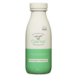 Caprina Fresh Goat's Milk Foaming Milk Bath -  Eucalyptus Mint - 800ml