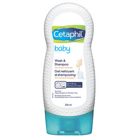 Cetaphil Baby Wash & Shampoo - 230 ml