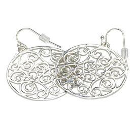 Haskell Silver Drop Earrings