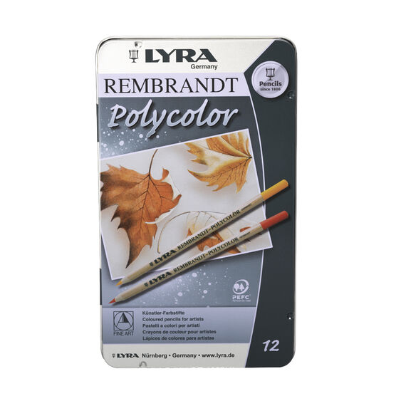 Lyra Polycolour Pencils - 12 pack