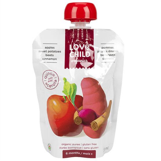 Love Child Apples Sweet Potatoes Beets Cinnamon - 128ml