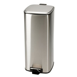 London Drugs Garbage Bin - Stainless Steel - 30L