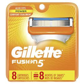 Gillette Fusion5 Razor Blades - 8's