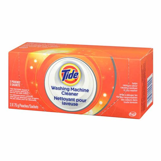 Tide HE Washing Machine Cleaner - 3 x 75g