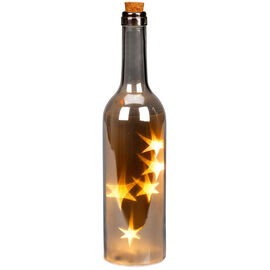 London Drugs Bottle Lamp - Shiny - 5 LED's