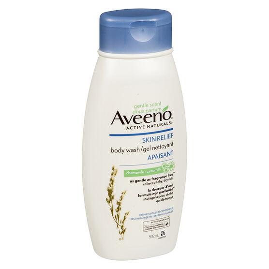 Aveeno Active Naturals Skin Relief Body Wash - Chamomile - 532ml