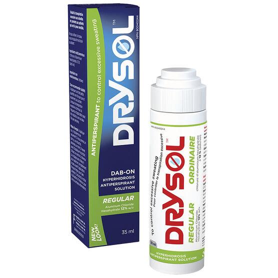 Drysol Antiperspirant Dab On Regular Strength - 35ml
