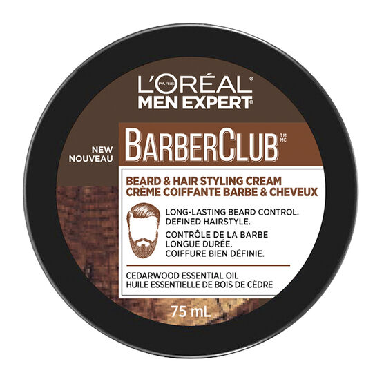 L'Oreal Men Expert BarberClub Beard & Hair Styling Cream - 75ml