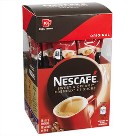 Nescafe Sweet & Creamy Original - 18x22g