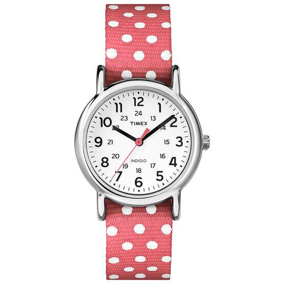Timex Weekender Watch - Pink - TW2P65600GP