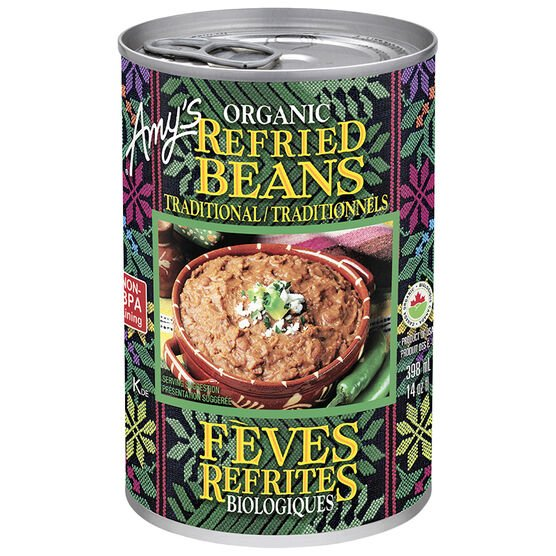 Amy's Organic Traditional Refried Beans - 398ml