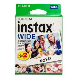 Fuji Instax Wide Film Twin Pack - 20 exposures
