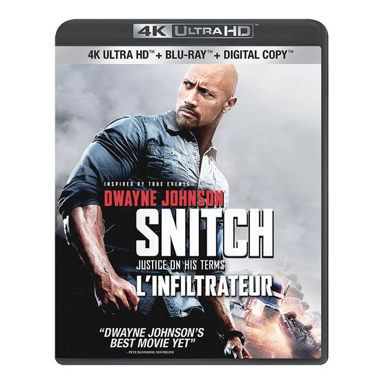 Snitch - 4K UHD Blu-ray