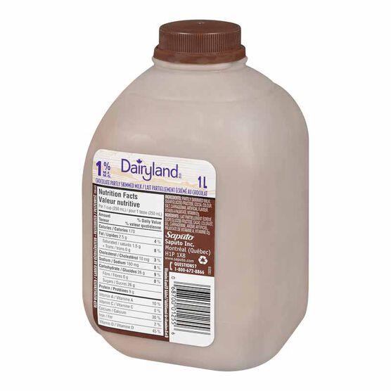 Dairyland Chocolate Milk - 1% - 1L Jug