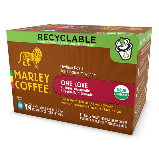 Marley's Single Serve Pods - One Love - 12 pack