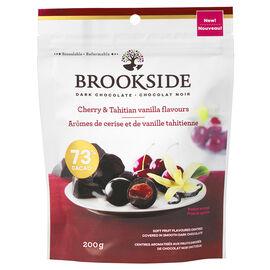 Brookside Dark Chocolate - Cherry & Tahitian Vanilla Flavours - 200g