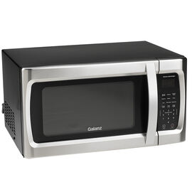 Galanz 1.1cu.ft Microwave - Black/Stainless