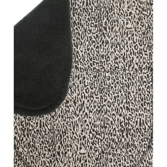 Silver's Wheel Chair Blanket - Animal Print/Black