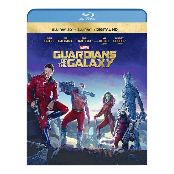 Guardians of the Galaxy 3D - Blu-ray 3D + Blu-ray + Digital HD