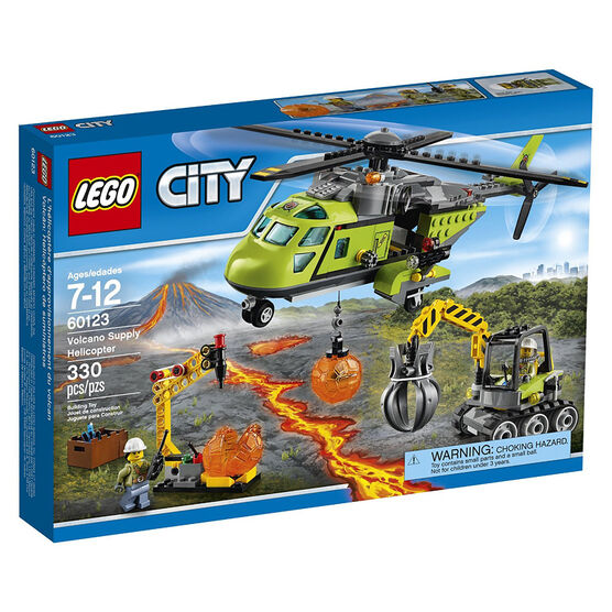 LEGO City - Volcano Supply Helicopter