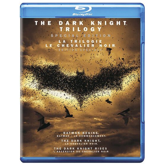 The Dark Knight Trilogy (Special Edition) - Blu-ray