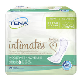 Tena Intimates Pads - Moderate Regular - 20's