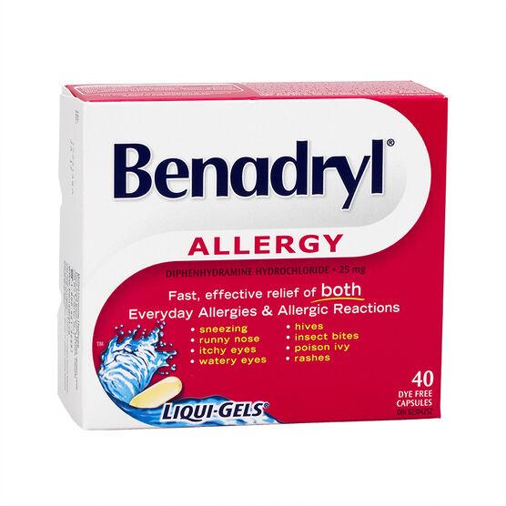 Benadryl Allergy Fast ...