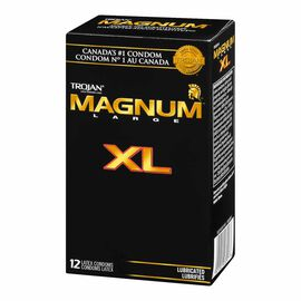 Trojan Magnum Condoms - Extra Large - 12's