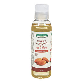 Nature's Truth Aromatherapy 100% Pure Sweet Almond Unscented Base Oil 100% - 118ml