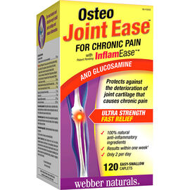 Webber Naturals Osteo Joint Ease for Chronic Pain - Glucosamine - 120's