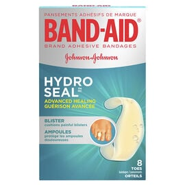 Band-Aid Hydro Seal Advanced Healing Blister - Toe Bandages - 8's