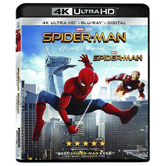 Spider-Man: Homecoming - 4K UHD Blu-ray