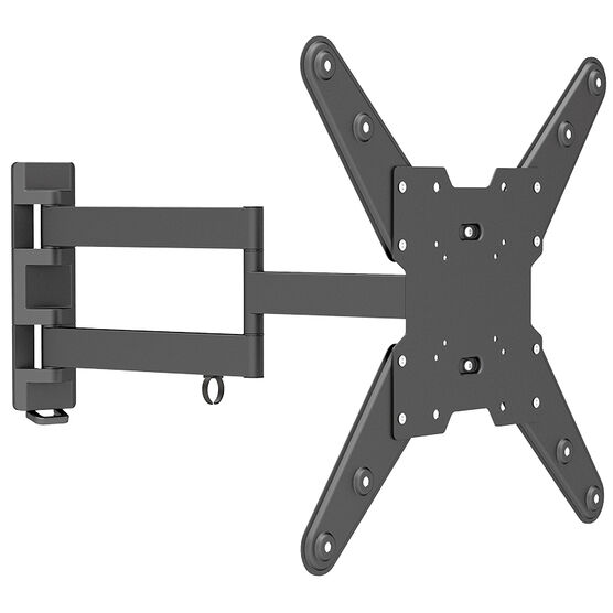 """Evermount Full Motion Wall Bracket for Panels 32"""" to 55"""" - Black - EMA400"""