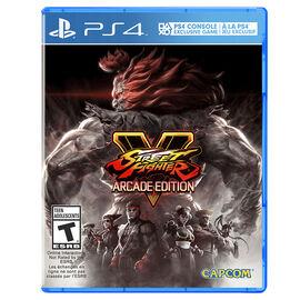 PS4 Street Fighter V - Arcade Edition