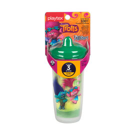 Playtex Stage 3 Trolls Spout Cup - 266ml - Assorted