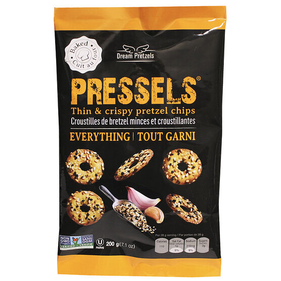 Dream Pretzels Pressels - Everything - 200g
