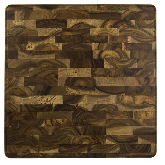 Architec GW End Grain Acacia Wood Cutting Board - 13 x 13inch