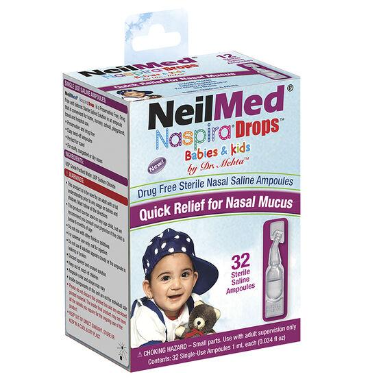 NeilMed Naspira Drops - 32 x 1ml