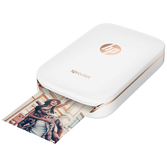 HP Sprocket Portable ZINK Photo Printer- White -X7N07A