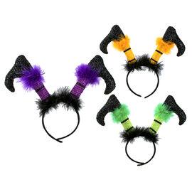 Halloween Witch Feet Headband - Assorted