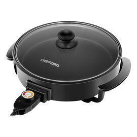 Chefman Round 12in Electric Skillet - RJ05-12-RO