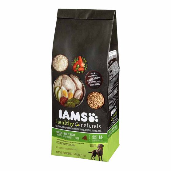 Iams Chicken & Barley Dog Food - 2.27kg