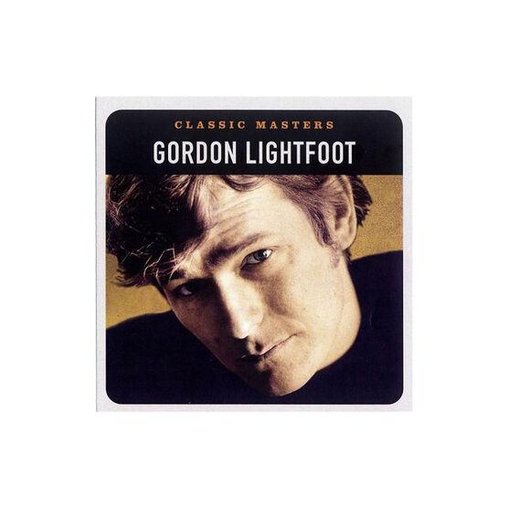 Gordon Lightfoot - Classic Masters - CD