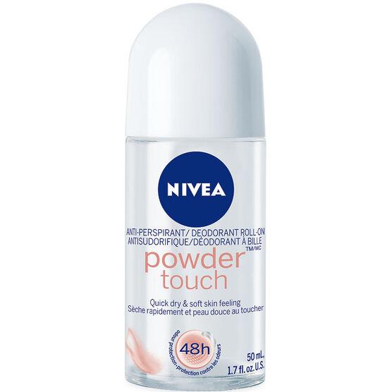 Nivea Powder Touch Anti-Perspirant Roll On - 50ml