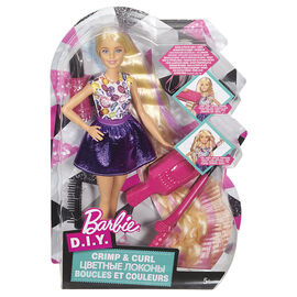 Barbie DIY Crimp and Curl Doll