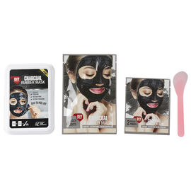 Lindsay Rubber Mask - Charcoal