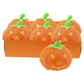Halloween Light Up Squishy Pumpkin - 5in